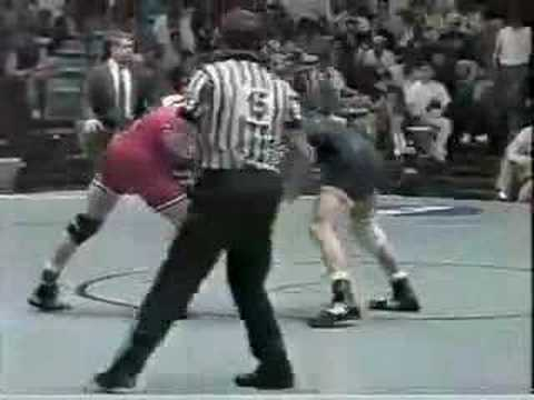 1994 NCAA: Pat Smith Oklahoma St vs Sean Bormet Michigan