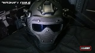 AWT ARMOR WARRIOR TACTICAL G4 PROTECTION HELMET Review / Impact Test / JK ARMY