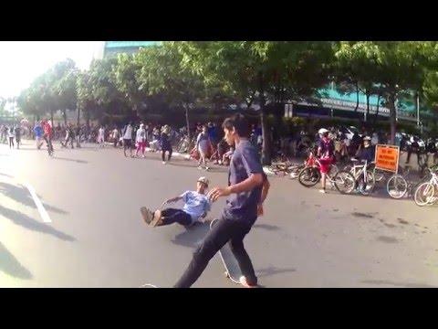 My Trip My Adventure, Latihan bersama Komunitas Skate Board, Jakarta