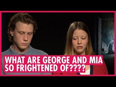 George Mackay and Mia Goth  The Secret of Marrowbone