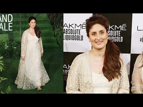 Kareena Kapoor Khan at Lakme Fashion Week Summer:Resort 2017