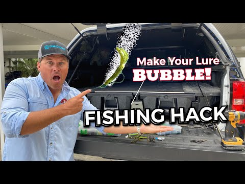Make Your Lure BUBBLE! Fishing Hack I Didn't Want To Tell YOU. Vol. 4