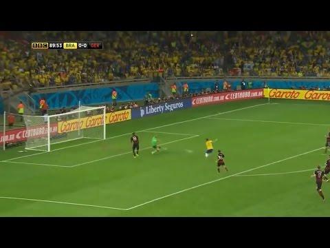 Brasil le gana a Alemania y pasa a la final de la Copa del Mundo 2014