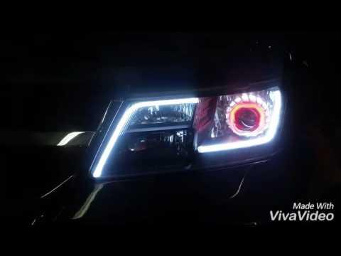 Dodge Journey farolas tuning. - YouTube