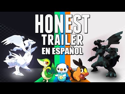 POKEMON BLACK & WHITE (Honest Game Trailers en Español