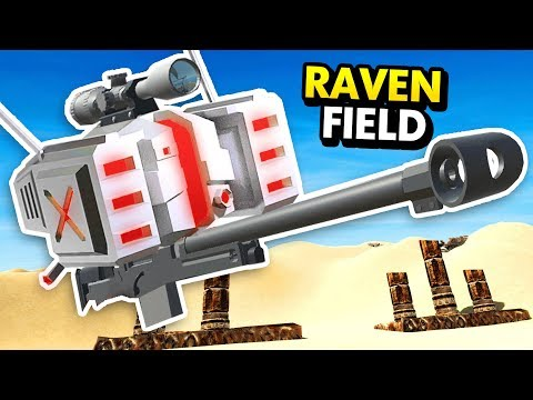 REMOTE CONTROLLED SNIPER DRONE IN RAVENFIELD (Ravenfield Funny Gameplay)