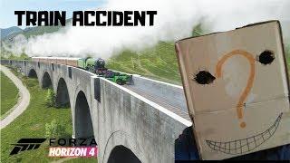 Train accident | Ford Raptor | FORZA HORIZON 4