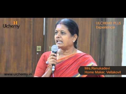 Ulchemy Plus - Mrs. Renukadevi Wounderful Experience