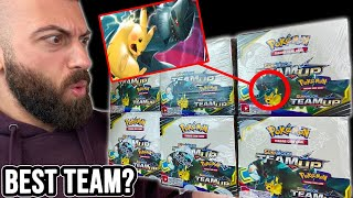 The BEST Tag Team Pokemon Card? (Opening 6 Booster Boxes Of Team Up)