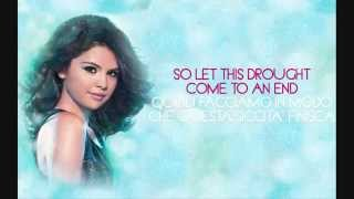 Selena Gomez -- A Year Without Rain 【Lyrics & Traduzione Italiana】
