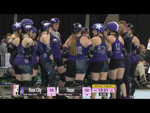 D1 Game 8: Rose City Rollers v Texas Rollergirls