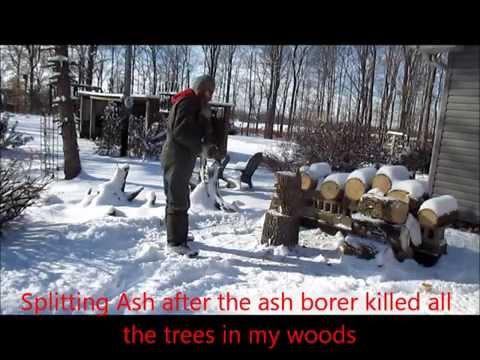 Wood Splitting 101 (Wedge & Maul)