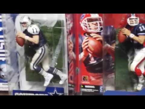 2014 Drew Bledsoe Mcfarlane NFL Cowboys, Bills & Patriots