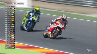 MotoGP 2015 Aragon Highlights