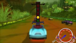 Hot Wheels Ultimate Racing PSP Gameplay HD
