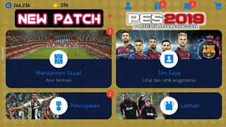 NEW PATCH PES 2019 MOBILE ANDROID NO ROOT