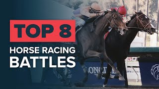 TOP 8 HORSE RACING DUELS: BEHOLDER & SONGBIRD
