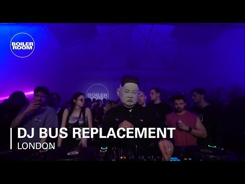 DJ Bus Replacement Service  | Boiler Room London: Warehouse Party