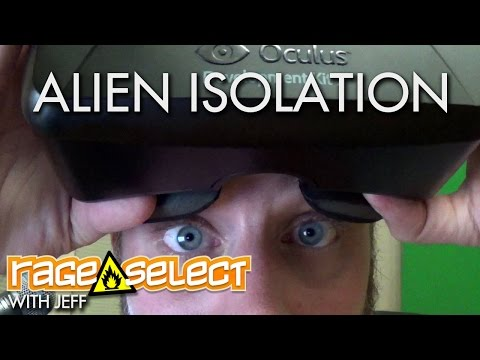 Jeff vs Oculus Rift - Alien: Isolation
