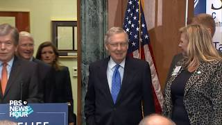 WATCH: Senate Majority Leader Mitch McConnell news briefing on tax reform