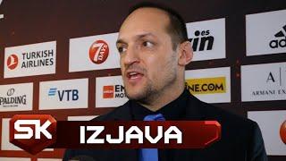 Igor Rakočević o Fajnal-foru Evrolige u Vitoriji 2019  SPORT KLUB Košarka