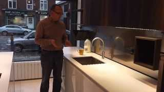 Quooker Fusion Round Constant Hot Water Tap Demonstration