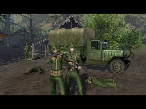 Men of War Vietnam - USA campaign walkthrough - Mission 3 - On The Trail of Uncle Ho 3/4 |