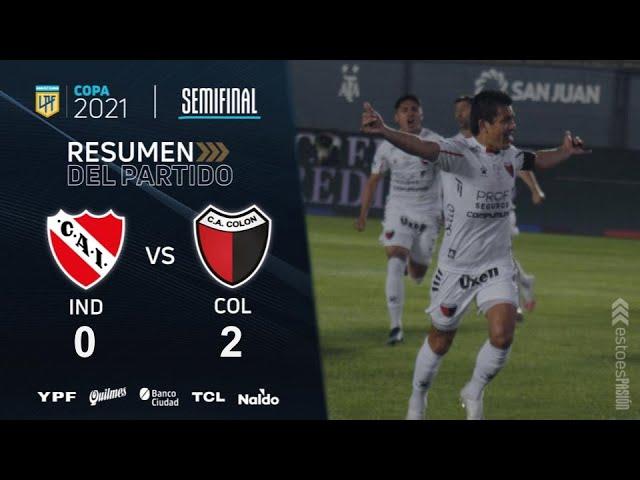Colón & Racing advance to the Copa de La Liga final