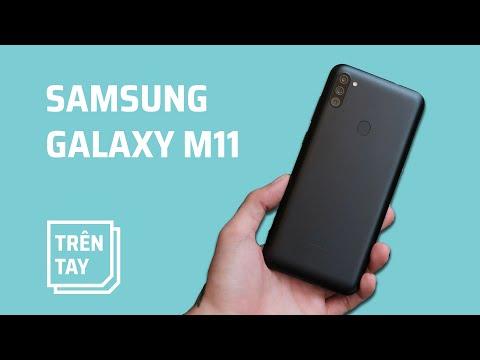 Trên tay Samsung Galaxy M11