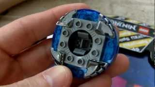 Lego Ninjago NRG Jay Unboxing and Review - Lego Set 9570