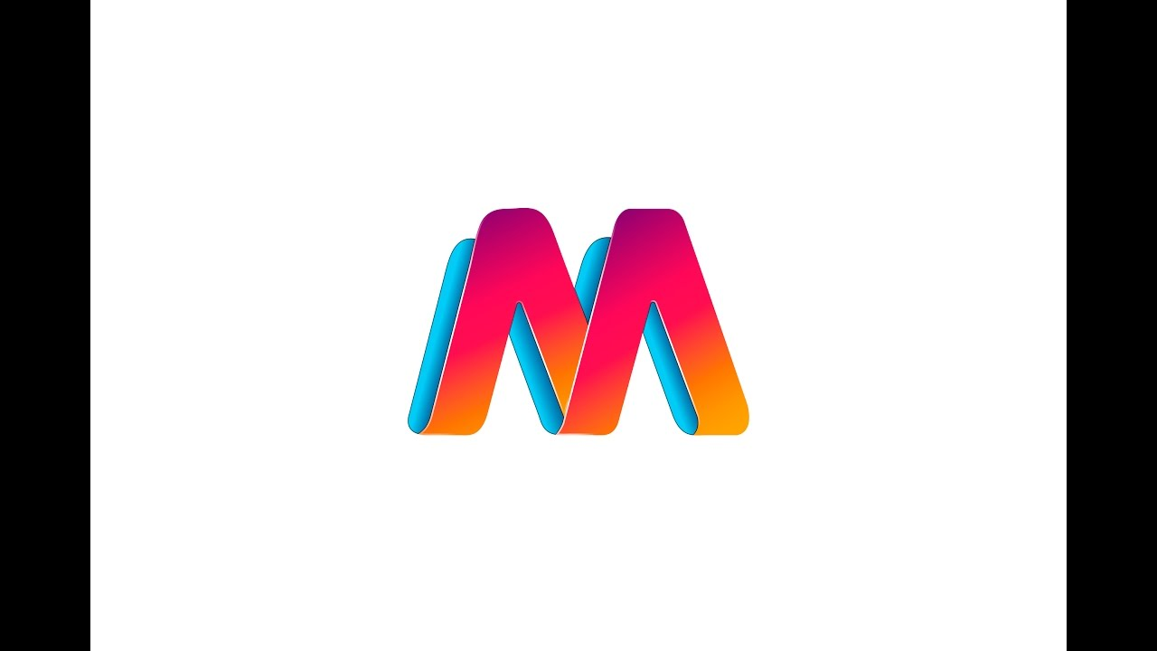 Illustrator Tutorial Logo Design Letter M