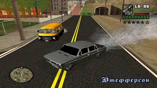 GTA: San Andreas - Дагестан 2 - Самые крутые машины с тюнингом
