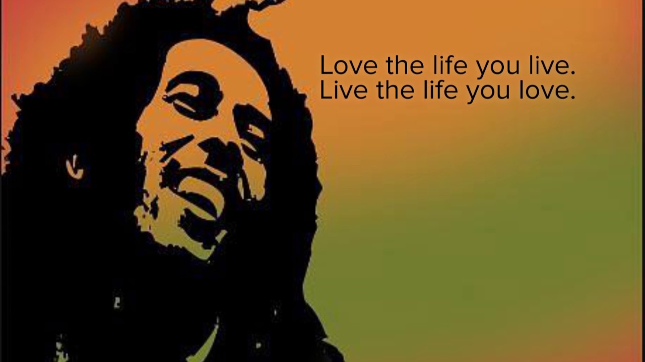 7 Bob Marley quotes about life on earth