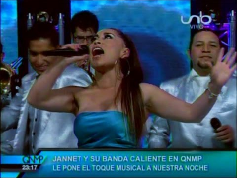 VIDEO: YANET Y LA BANDA KALIENTE - Ya Te Olvidé (en Vivo QNMP) - WWW.VIENDOESLACOSA.COM - Cumbia 2015