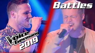 Ed Sheeran & Justin Bieber - I Don't Care (Maciek vs. Julian) | The Voice of Germany 2019 | Battles
