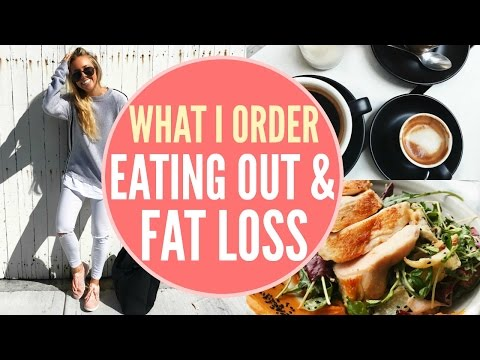 EATING OUT: WHAT I ORDER | Maintain Fat Loss & Healthy Diet