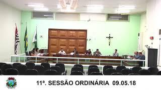 Sessão da Câmara 09.05.18