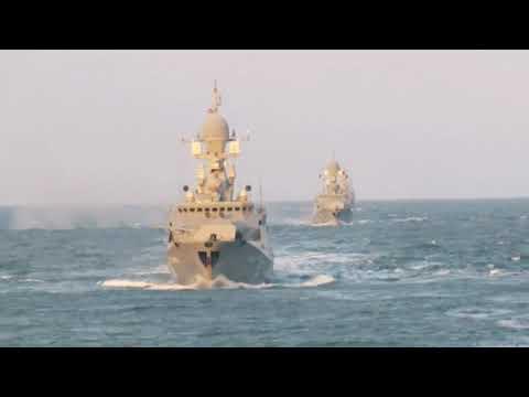 295 лет Каспийской Флотилии ВМФ России | 295 years the Caspian Flotilla of the Russian Navy