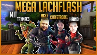 😂🚫Try NOT to laugh feat. Hänno, Flymacs & Chefstrobel | Fortnite Battle Royale