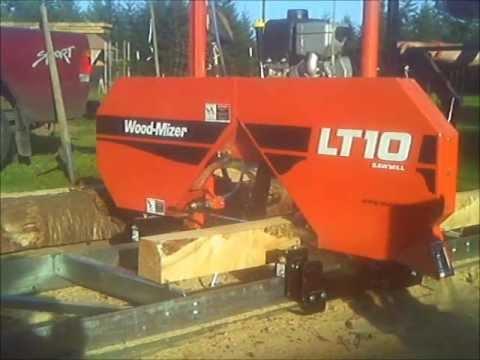 Wood Mizer Mp100 150 Moulder Planer Funnydog Tv