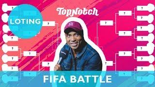 AFLEVERING 1 Loting TOP NOTCH FIFA 19 BATTLE met HUMBERTO TAN