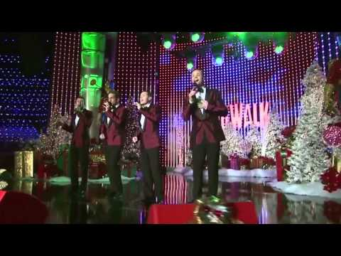"Human Nature ""Have Yourself a Merry Little Christmas"" at Hollywood Christmas Parade"