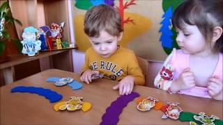 Игра ''Льдинки''  с детьми младшей группы