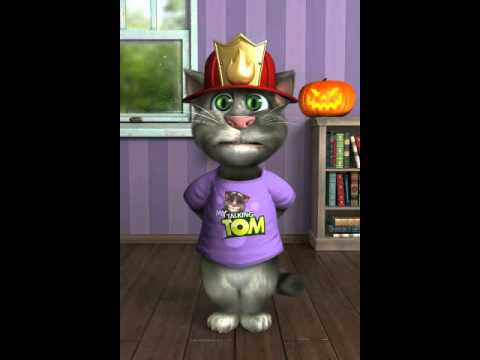 Talking Tom singing kane theme song wwe