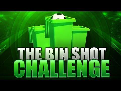 Irl Football The Bin Shot Challenge Youtube
