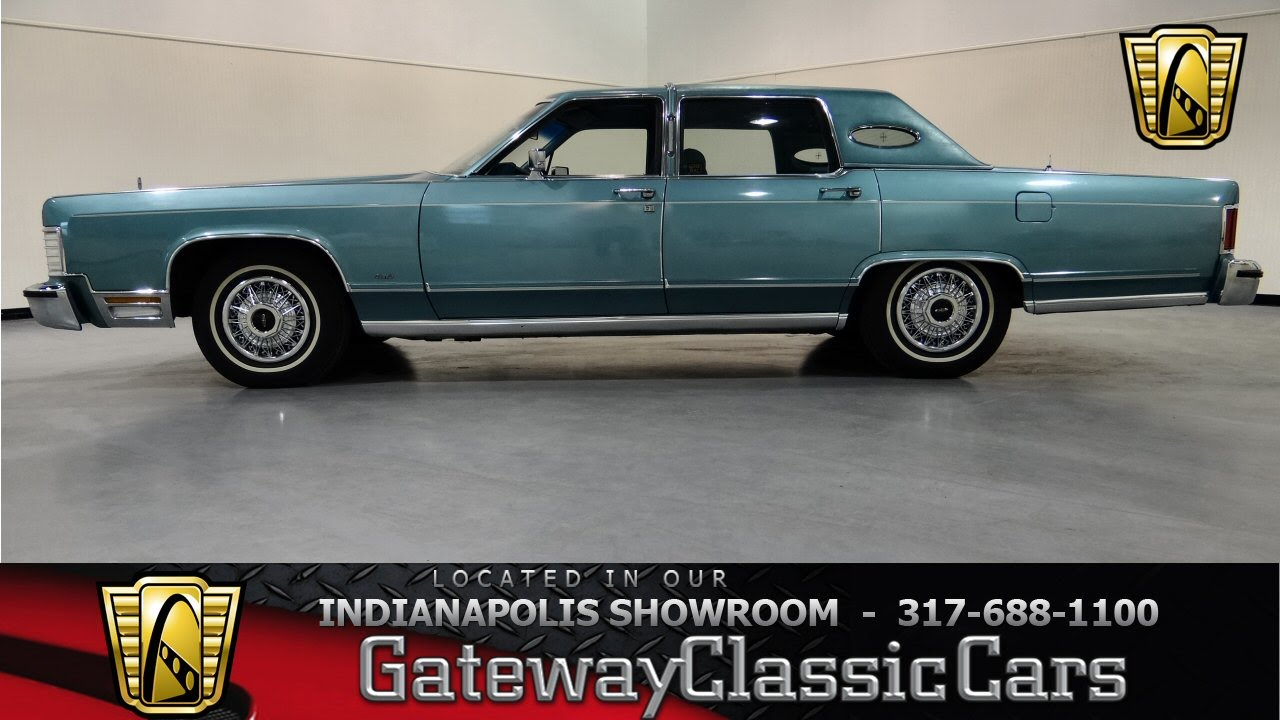 1979 Lincoln Continental - Gateway Classic Cars Indianapolis ...