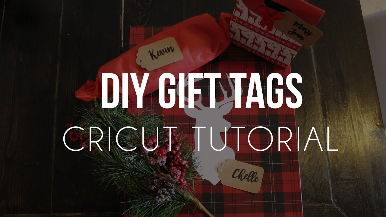 Cricut Gift Tags Youtube