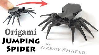 Origami Jumping Spider Tutorial