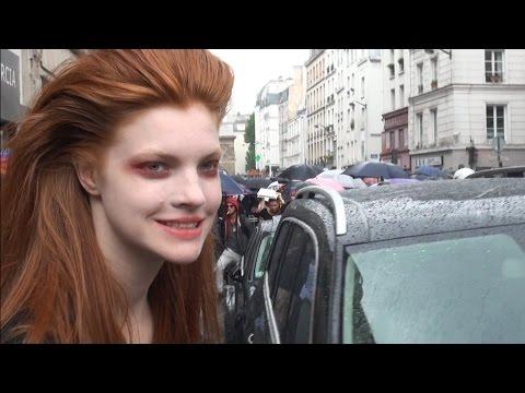 Fashion Week Paris ANASTASIA  IVANOVA  .