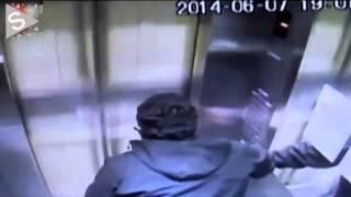 Elevador sube 30 pisos en 15 segundos con hombre adentro